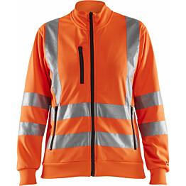 Naisten college Blåkläder Highvis 3308, vetoketjulla, huomio oranssi