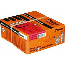 Naulakaasupakkaus Paslode IM350 63X2,8 kuumasinkitty kampa 3300 kpl/pkt