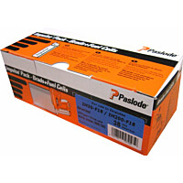 Naulakaasupakkaus Paslode IM50F18 viimeistely 50X1,2 sinkitty valkoinen kanta 2000 kpl/pkt