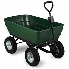 Nelipyöräkottikärry AB Polar 75 L 120 kg vihreä