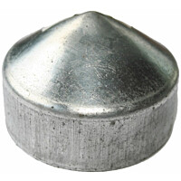 Tolpanhattu Hortus, Ø140mm, galvanoitu