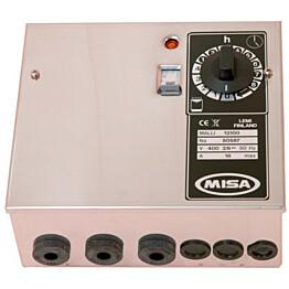 Ohjauskeskus Misa 13150 12-15 kW kiukaille 2-jak.