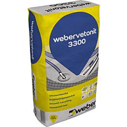 Oikaisutasoite 3300 Webervetonit 20 kg