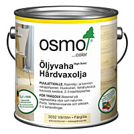 Öljyvaha OSMO COLOR 3032 2,5 l väritön silkinhimmeä