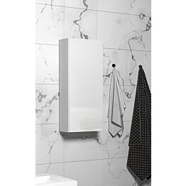 Seinäkaappi Otsoson 300 300x705x120mm valkoinen kiiltävä