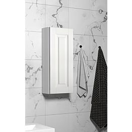 Seinäkaappi Otsoson 300 300x705x120mm valkoinen kehysovi