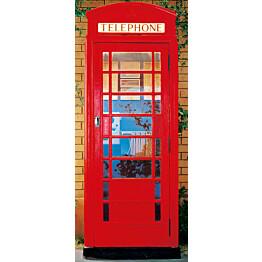 Ovitapetti 00549 Telephone Box 86x200 cm