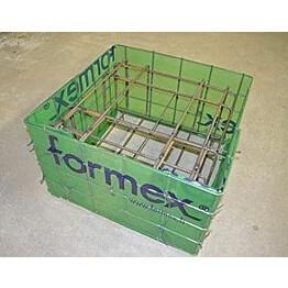 Anturamuotti Formex paaluantura 200x600x600mm