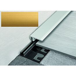 Päätelista Progress Profiles LVT Terminal PIN, 2,7m, 19mm, 4-6mm, anodisoitu kulta