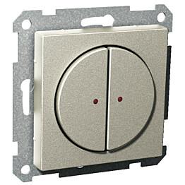 Painike 2-OS/400MA/12-24V metalli Exxact