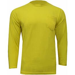 Paita Atex Hi-Vis 2862 pitkähihainen keltainen