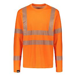 Paita Dimex 4295+ hi-vis pitkähihainen oranssi