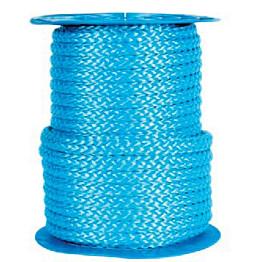 Polypropeeniköysi palmikoitu 20mm sininen 15,00kg/100m