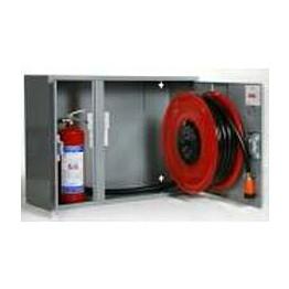 Palopostikaappi PV-102 pintamalli 25 mm / 30 m valkoinen 990x690x290mm