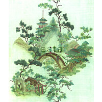 Paneelitapetti PhotoWallXL Chinoiserie 158114 2325x2790 mm