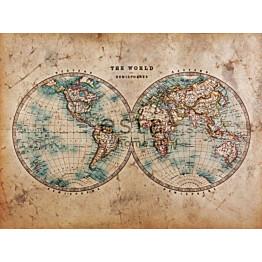 Paneelitapetti PhotowallXL Two Hemispheres 158211 3720x2790 mm