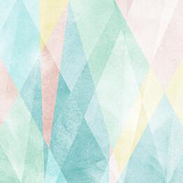 Paneelitapetti Sandberg Prisma värikäs 3,6 m xkuvan korkeus 2,7 m non-woven