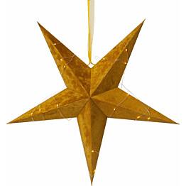 Paperitähti Star Trading Velvet Ø600x210mm kulta