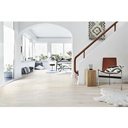 Parketti Tarkett Heritage Tammi Opal White 1-sauva valkoinen 2.51 m²/pak