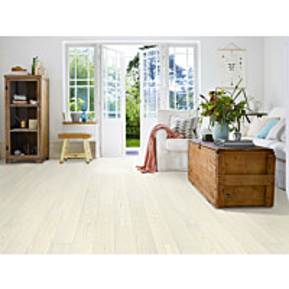 Parketti Tarkett Play Saarni Ivory Plank 1-sauva valkoinen 1.94 m²/pak