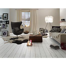 Parketti Tarkett Play Tammi Winter Plank 1-sauva valkoinen 1.94 m²/pak