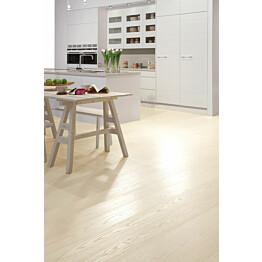 Parketti Tarkett Shade Saarni Pearl White Plank 1-sauva luonnollinen vaalea valkoinen 7967007