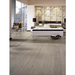 Parketti Tarkett Shade Tammi Misty Grey Plank 1-sauva luonnollinen vaalea 7876085