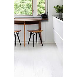 Parketti Timberwise Tammi Winter 185mm mattalakattu, valkoinen