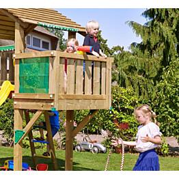 Parvekemoduuli leikkitorniin Jungle Gym Balcony sis. puutavaran