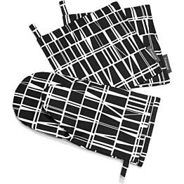 Patakinnas Coronna musta/valkoinen 15x30
