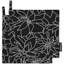 Patalappusetti Finlayson Aura 22x22 cm musta/valkoinen 2 kpl