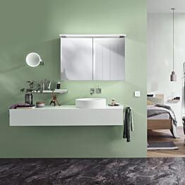 Peilikaappi Bathlife Glänsa, 1000mm, valkoinen