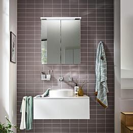 Peilikaappi Bathlife Glänsa, 600mm, valkoinen