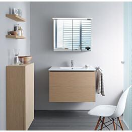 Peilikaappi Bathlife Glänsa, 800mm, valkoinen
