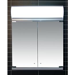 Peilikaappi LED-valaisimella Tammiholma Nemi 50x62 cm 28 W vikavirtasuojakytkin