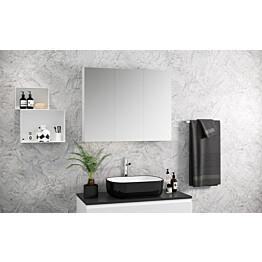 Peilikaappi Otsoson Luvia 30 300 x 710 x 140 mm valkoinen