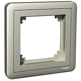 Peitelevy adapterilla 1-os. Combi metalli Exxact