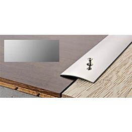 Peitelista Progress Profiles Prosol, 2,7m, 40mm, 0-5mm, liimakiinnitys, anodisoitu hopea