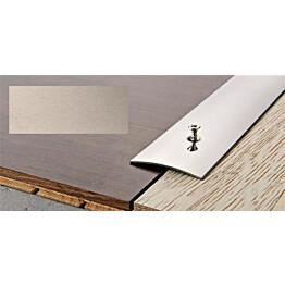 Peitelista Progress Profiles Prosol, 2,7m, 40mm, 0-5mm, liimakiinnitys, titaani