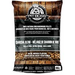 Pellettisekoitus Pit Boss Charcoal Blend 9 kg