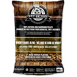 Pellettisekoitus Pitt Boss Whiskey Barrel Blend 9 kg