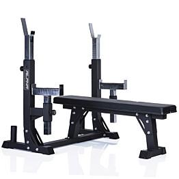 Penkkipunnerrusteline Gymstick Alpha Weight Bench max. 300 kg
