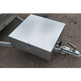 Perävaunun tarvikelaatikko Warma, 60x60x20cm