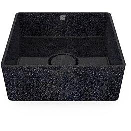 Pesuallas Woodio Cube40 Char, 400x400mm, musta