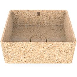 Pesuallas Woodio Cube40 Natural, 400x400mm, puu