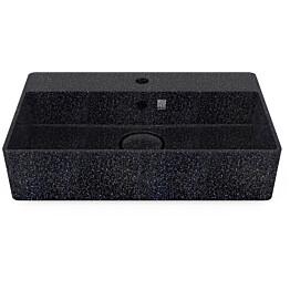 Pesuallas Woodio Cube60 Char, 600x400mm, hanareikä, musta