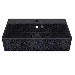 Pesuallas Woodio Cube60 Char, 600x400mm, seinäkiinnitys, musta