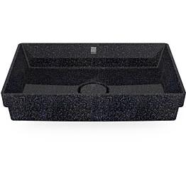 Pesuallas Woodio Cube60 Char, 600x400mm, upotettava, musta