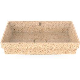 Pesuallas Woodio Cube60 Natural, 600x400mm, upotettava, puu