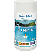 pH-säätöaine Swim & Fun pH Minus 1,5 kg